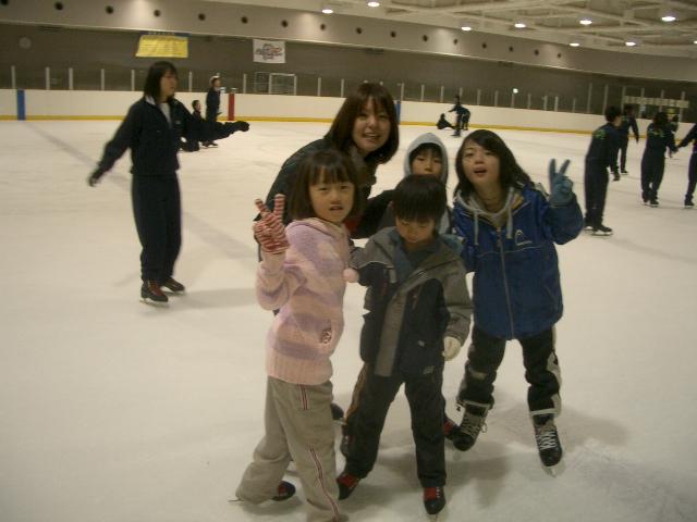 スケートに行きました