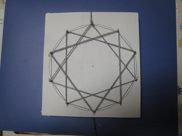 「かずの不思議」で九九グラフを作りました
