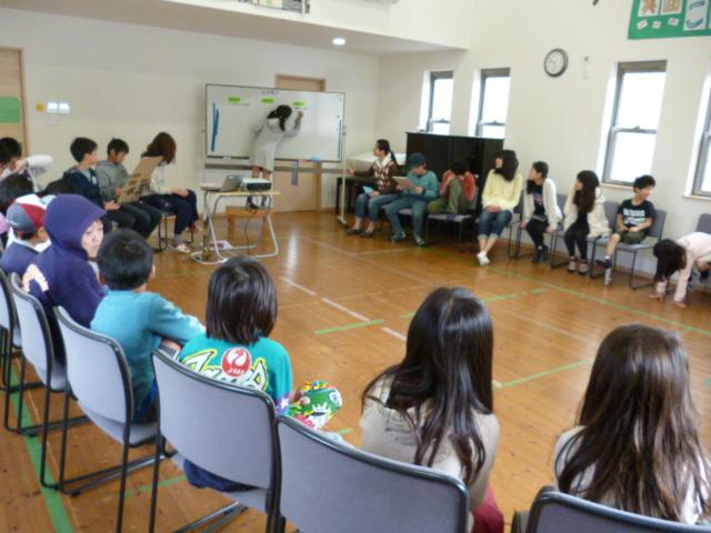 合同で全校集会を開催しました