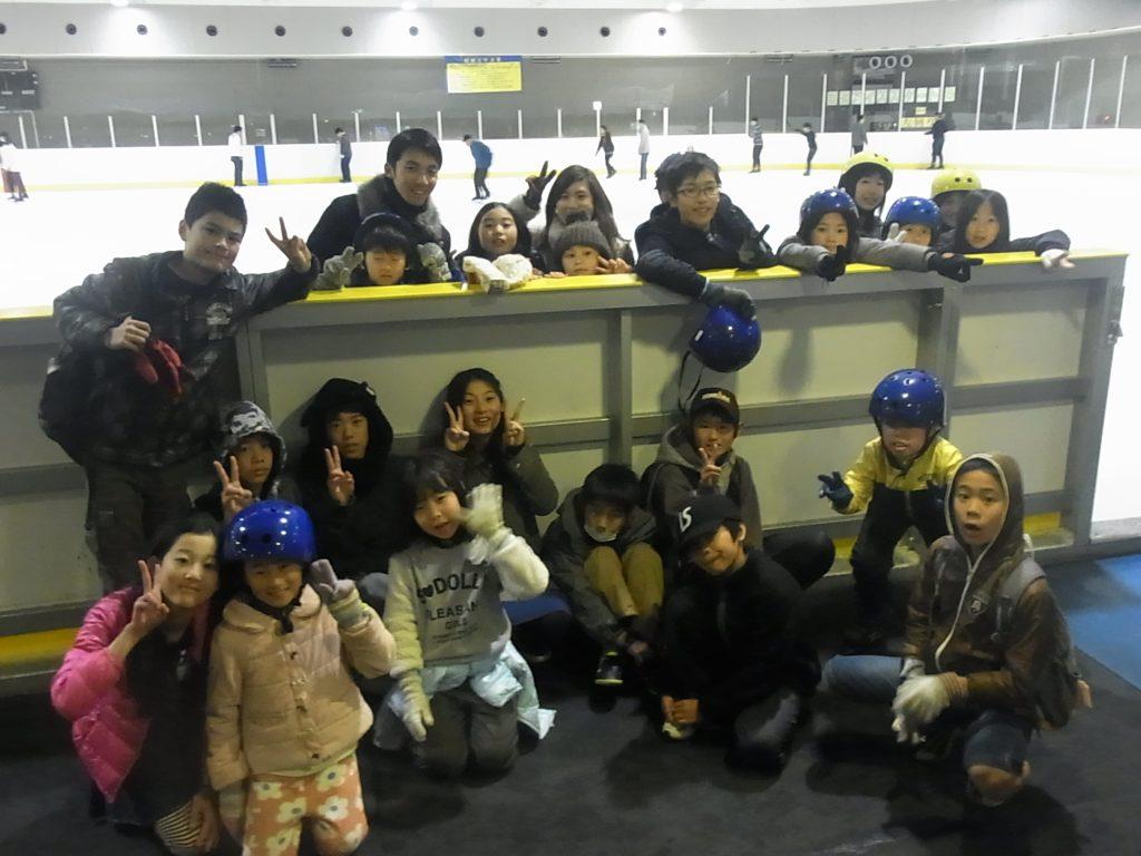 スケートにチャレンジ!
