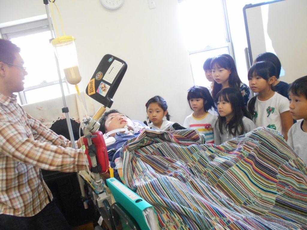 【テーマ学習】人工呼吸器をつけた折田涼さんのお話~低学年~