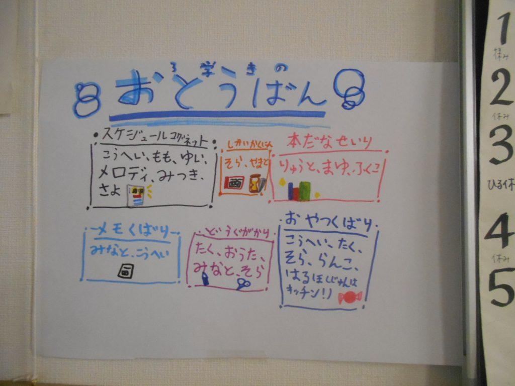 低学年集会~3学期のお当番~
