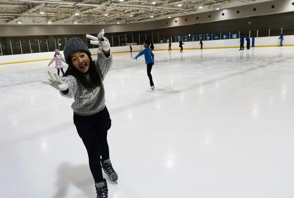 アイススケートへいきました!