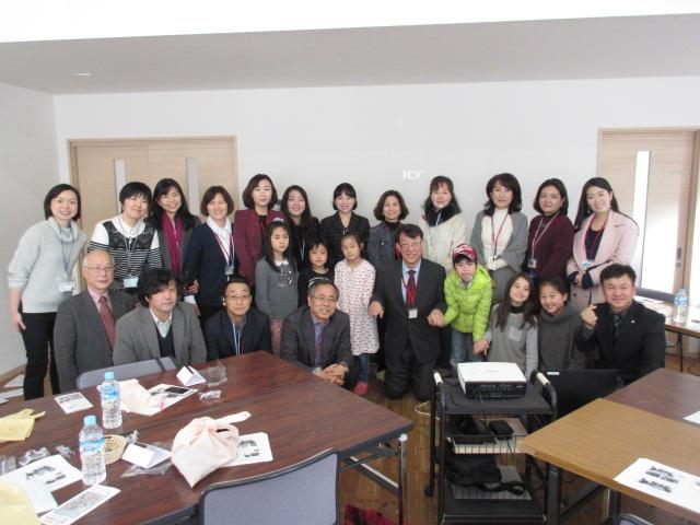 日韓教員交流 韓国からの訪問団のみなさんと交流しました!