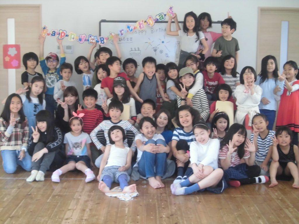 4月生まれの誕生会を行いました!