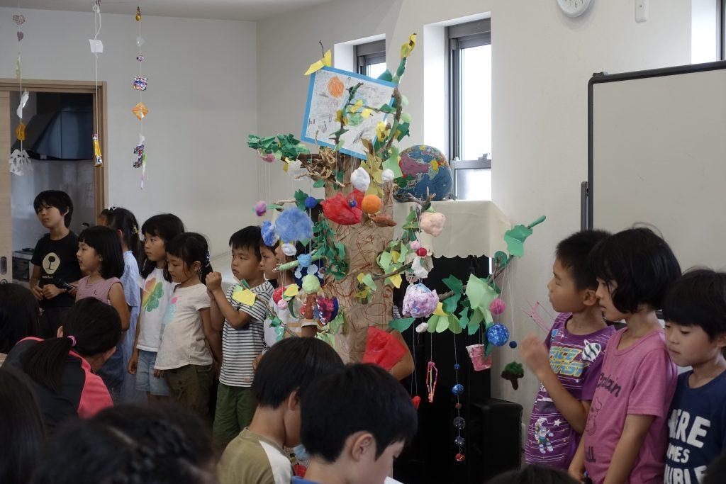テーマ学習発表会~低学年「いのちの樹」~