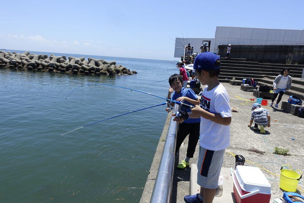 釣りにいってきました!(塩屋)